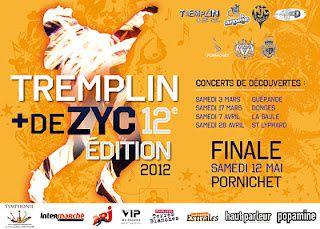 Saint-Lyphard - Espace culturel Sainte-Anne : Tremplin + Dezyc 2012, 4 ème rendez-vous le 28 avril 2012