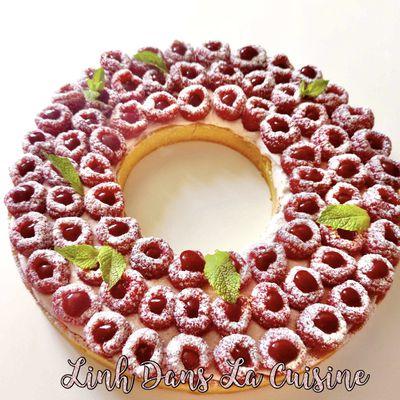 La tarte framboise selon Cyril Lignac, un dessert de saison frais et gourmand