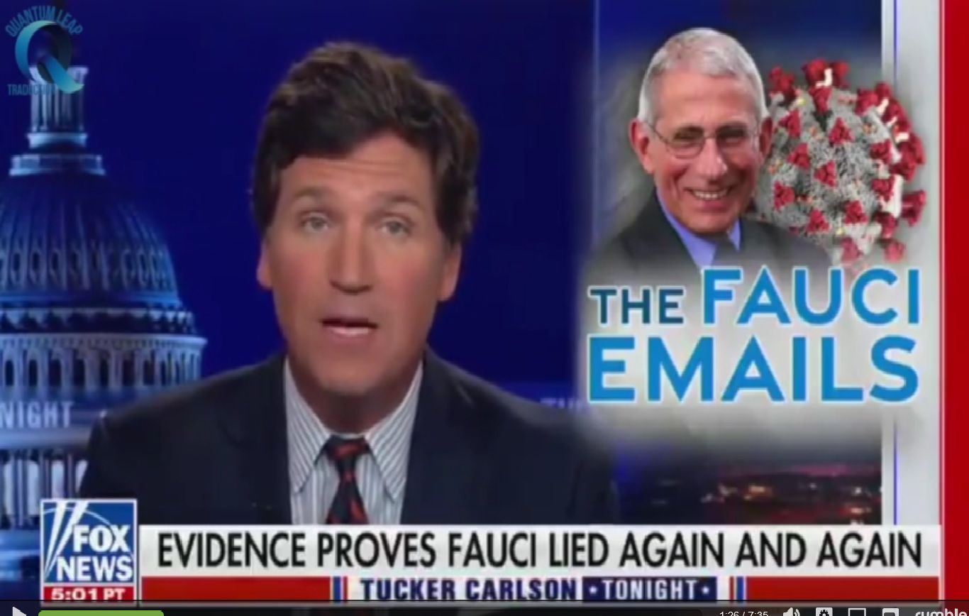 Tucker Carlson : les emails d'Anthony Fauci
