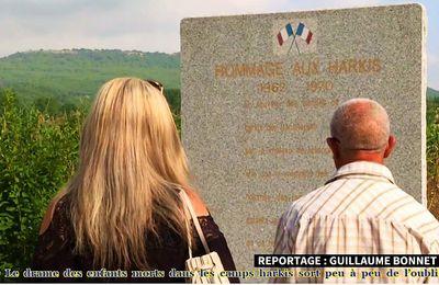 Vidéos, le drame des enfants morts dans les camps harkis sort peu à peu de l'oubli
