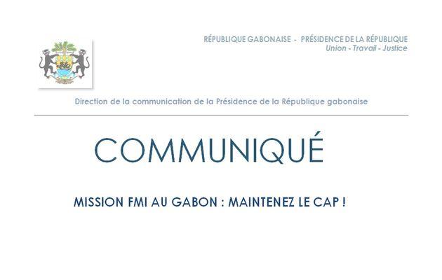 Présidence de la République: Communiqué de Presse