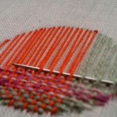 Darning on the surface