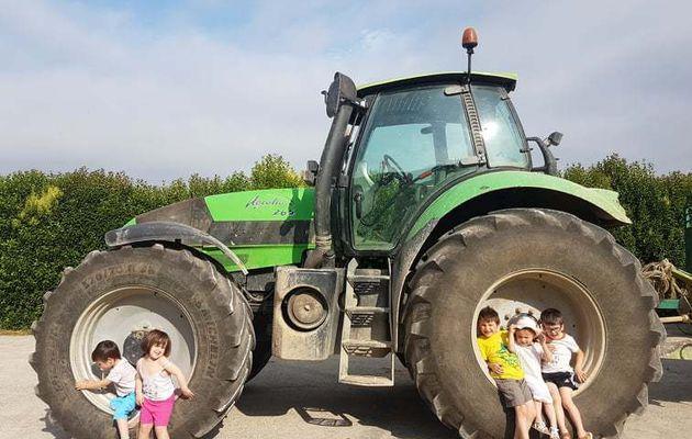 Visite de la ferme du Pouchiou