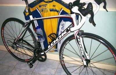 LOOK 566, mon Vélo 2009 ...j'en suis très content !