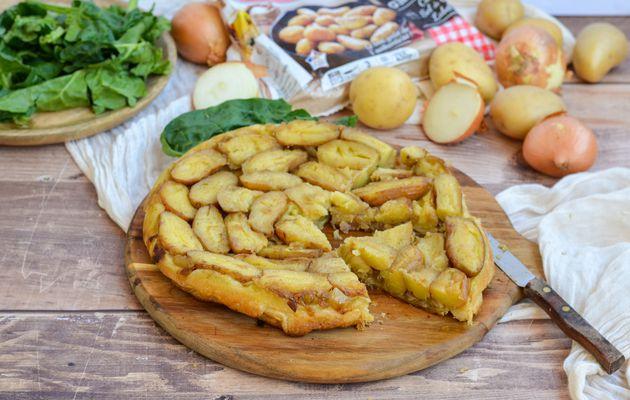 Tatin de pommes de terre grenaille