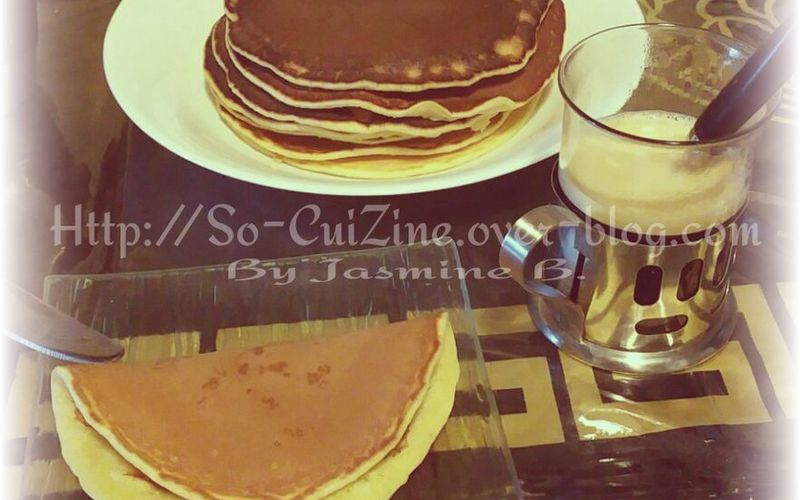 Pancakes nature de Jasmine B.