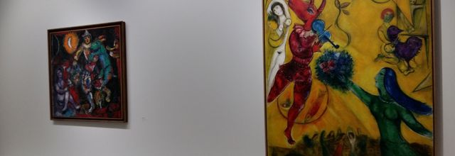 """CHAGALL """"De la Poésie à la Peinture"""" à Landerneau - 2ème partie"""