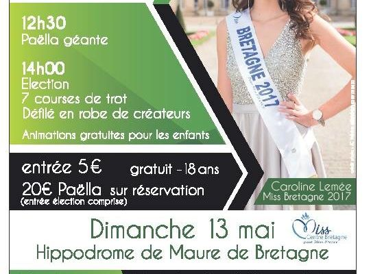 Election Miss Centre Bretagne 2018