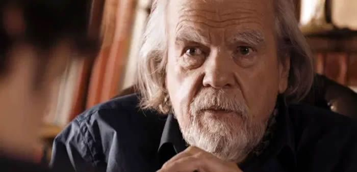 Michael Lonsdale en 2014. (Mandarin Films / Rezo Production / Collection Christophel via AFP)