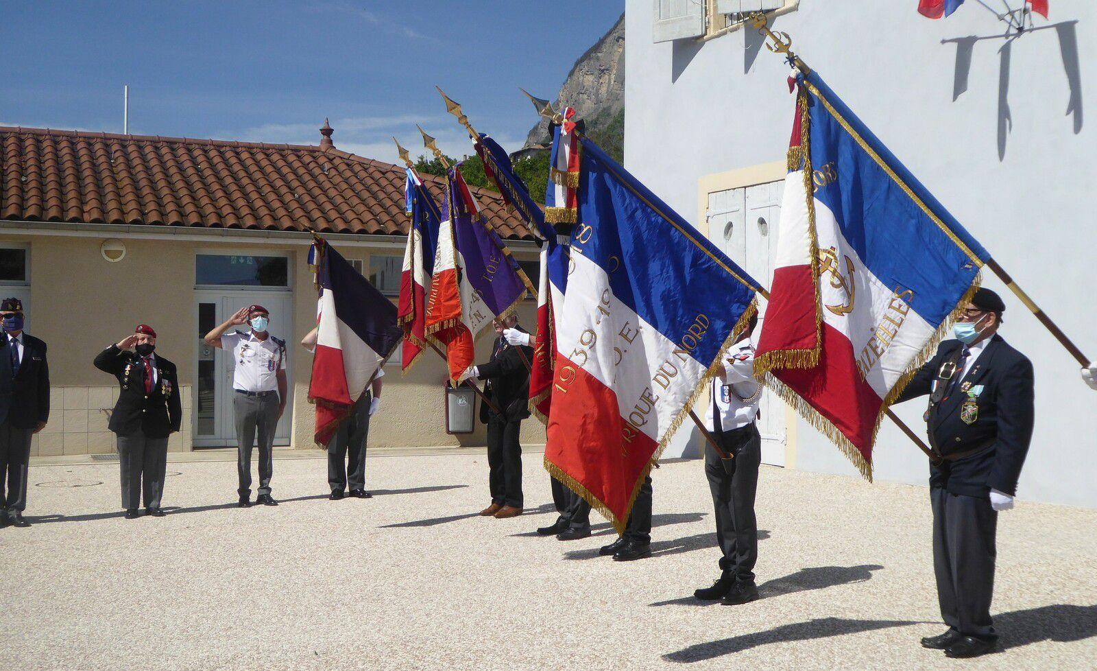 Cérémonie commémoration du 8 mai à Biviers
