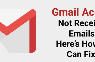 Why is my Gmail not receiving emails & How to fix it's