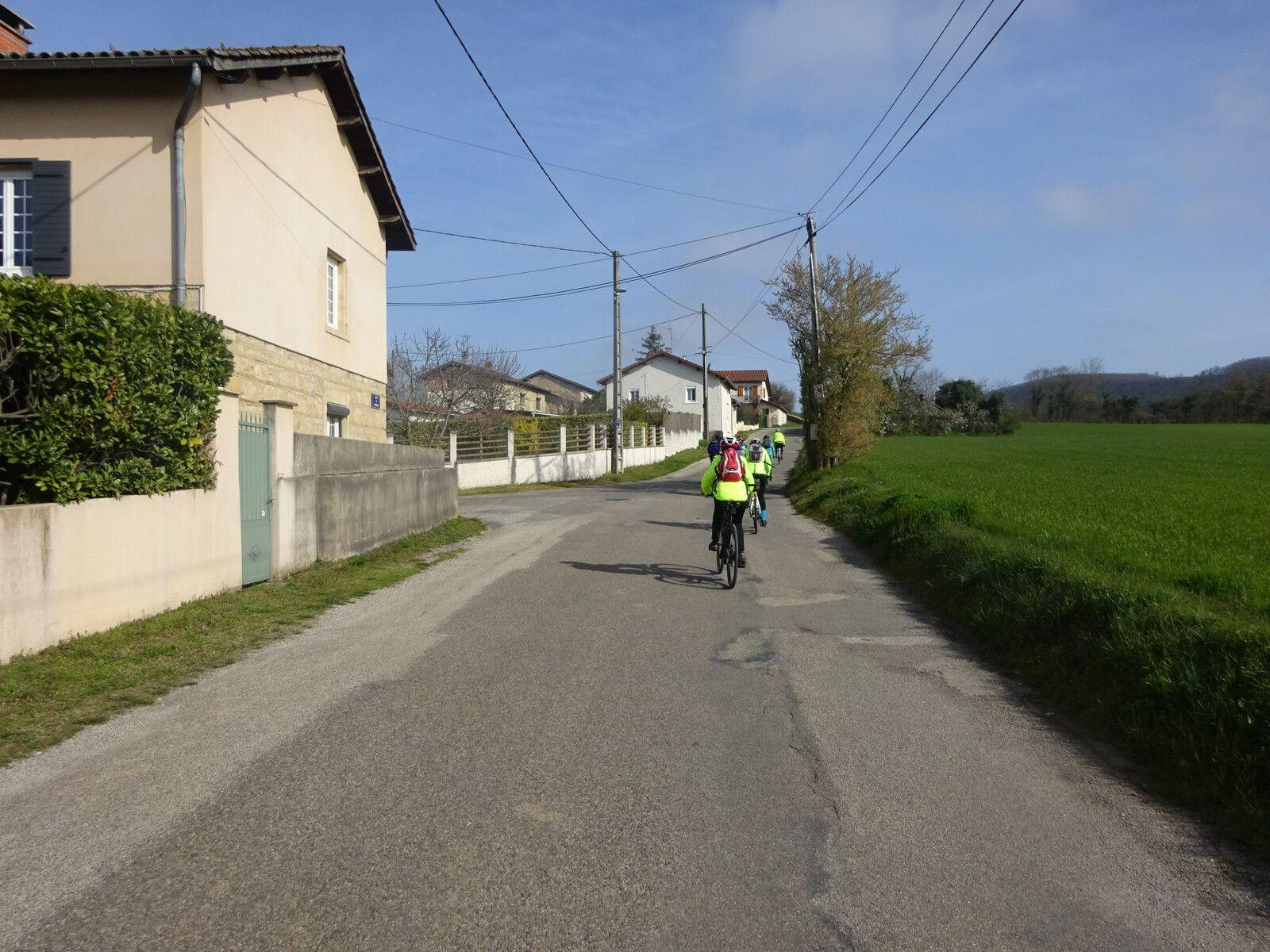 Frontonas - Sortie Promeneurs 1 - Lundi 22 mars 2021