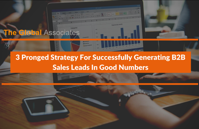 3 Pronged Strategy For Successfully Generating B2B Sales Leads In Good Numbers