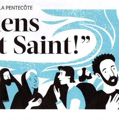 Annonce des messes de Pentecôte 2021