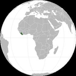 Liberio : ladurbo minacita de akvoleviĝo