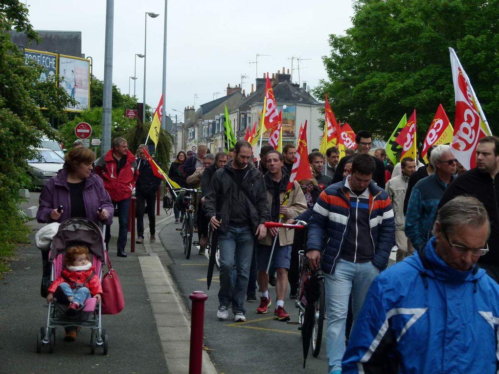 Journée de grève du mercredi 1er juin au Mans