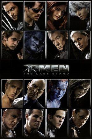 X- Men ( Ou une autre vue de la race supérieure pour ne pas dire autre chose ...) : Affiches