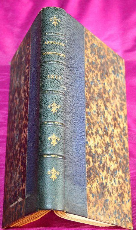 Annuaire scientifique. Huitème année. 1869.