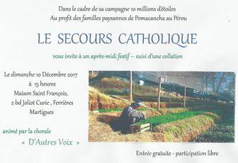 DIX MILLIONS D'ÉTOILES POUR LE SECOURS CATHOLIQUE
