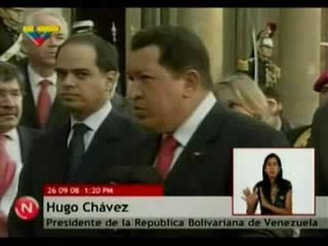 Bienvenue à Hugo Chavez
