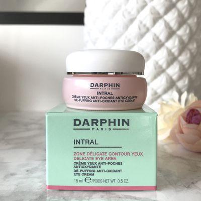 Darphin Intral Crème Yeux Anti-Poches Antioxydante : Mon avis