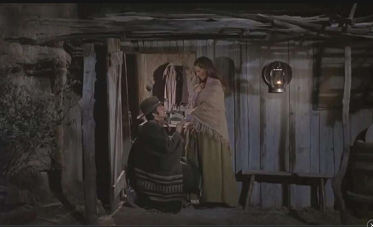 Jennifer O'Neill et Jorge Rivero / Rio lobo (1970)