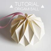 giochi di carta: Tutorial Origami Ball