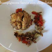 Champignons farcis aux chipolatas - Chez Mamigoz