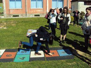 Visite d'une des écoles libres de La Spezia.
