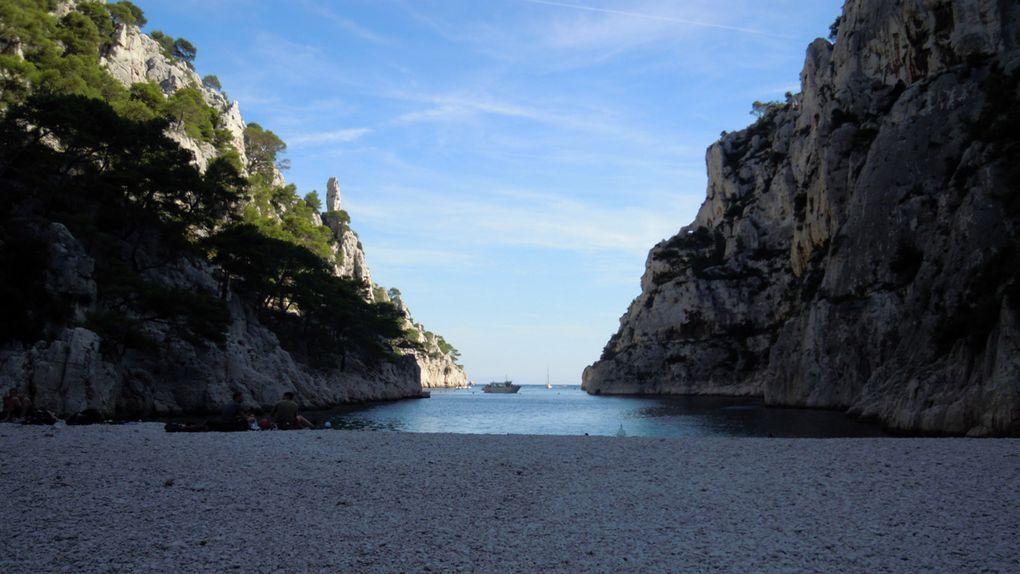 voyage de Grenoble à marseille en passant par Sisteron les Gorges du Verdon, les calanques de Cassis