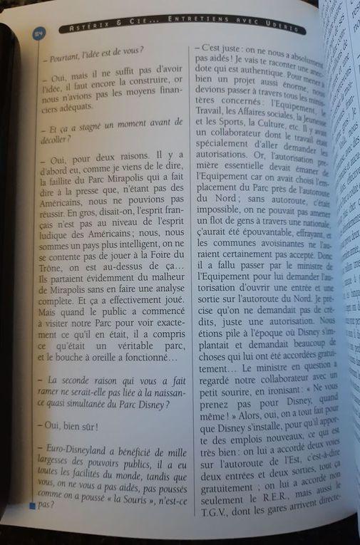 """Extraits du livre """"Astérix et Cie : Entretiens avec Albert Uderzo"""" aux éditions Hachette. Photos fournies par RomainFanatix"""