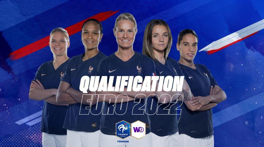 France / Autriche (Qualification Euro 2022 Dame) en direct vendredi sur W9 !