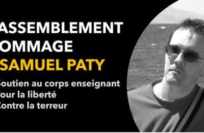 HOMMAGE A SAMUEL PATY :