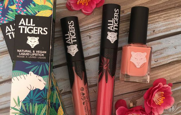 BEAUTE: le make up de chez ALL TIGERS