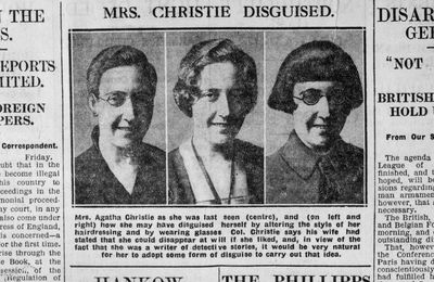 1926, Agatha disparaît : le secret de Mrs Christie