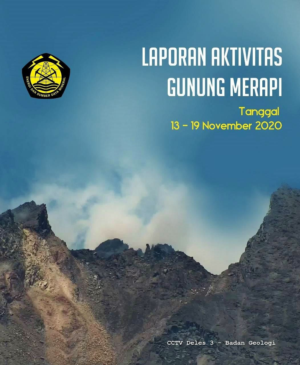 Merapi activity between November 13 and 19, according to BPPTKG report