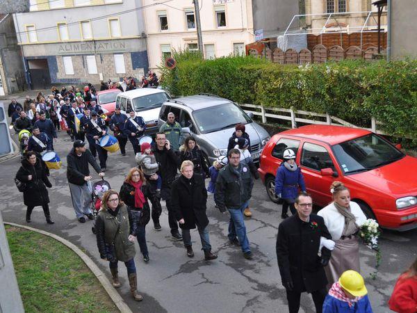 Défilé de la sainte-Barbe 2015 des Mineurs à Algrange (1)