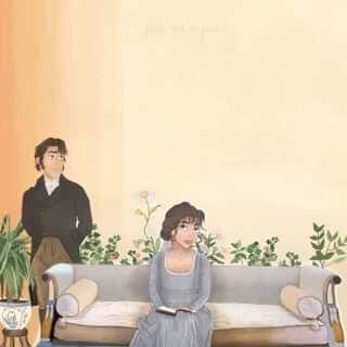 Voici un dessin d'Elizabeth et Mr. Darcy