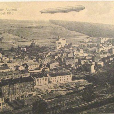 Oeil dans le rétro ALGRANGE et le Zeppelin