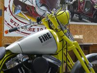Moto Harley Davidson personnalisée