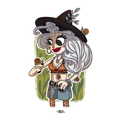 La sorcière aux escargots