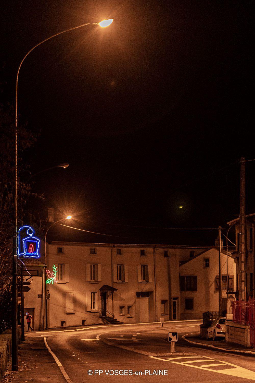 Les illuminations de Noël à MADONNE ET LAMEREY