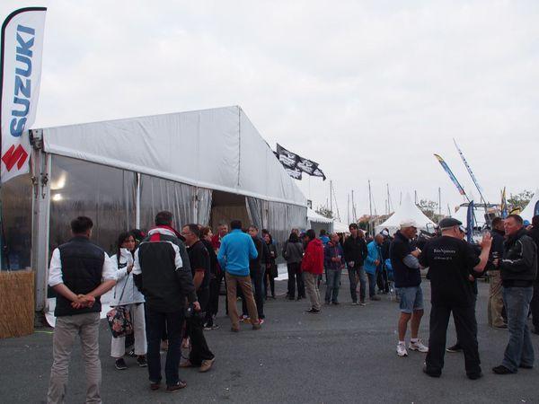 Le village du Barracuda Tour 2016 a pris de l'ampleur cette année, à l'instar de l'événement !