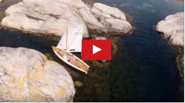 VIDEO - session de rase cailloux en voilier dans les îles norvégiennes