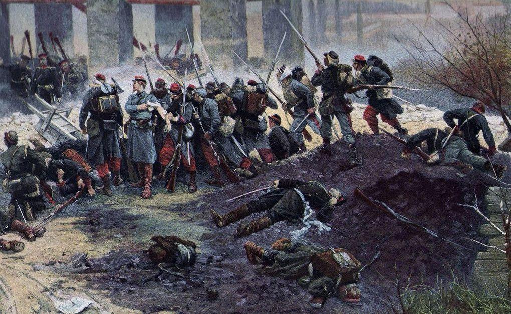 Alphonse de Neuville, peintre de la Guerre franco-prussienne.