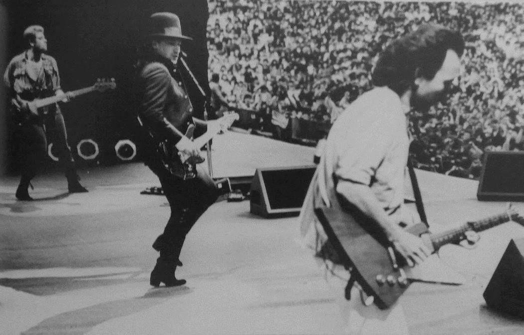 U2 -Unforgettable Fire Tour -29/06/1985 -Dublin -Irlande -Croke Park