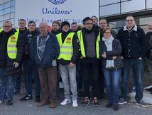 Au Meux, grève sur le site Unilever contre la réorganisation du travail