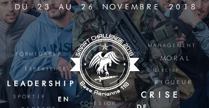 Stage de leadership avec l'Armée de l'Air : SMART CHALLENGE