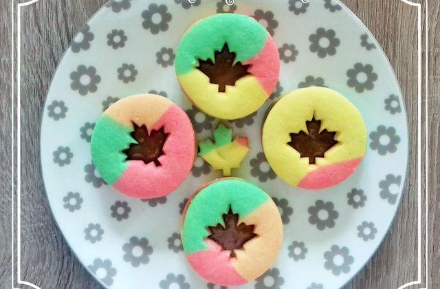 Tuto biscuits multicolores pour l'automne au caramel