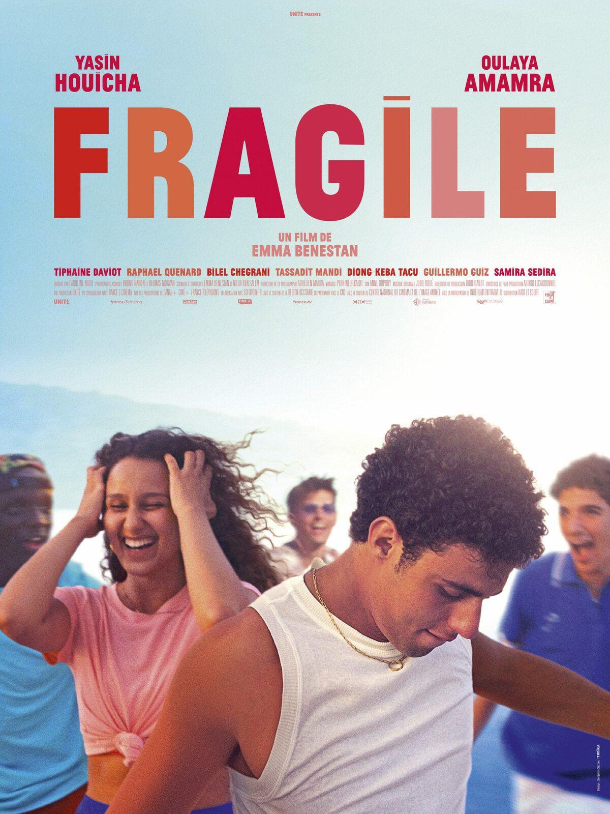 Fragile (BANDE-ANNONCE) avec Yasin Houicha, Oulaya Amamra, Raphaël Quenard - Le 25 août 2021 au cinéma